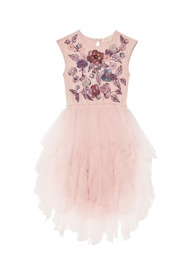 Tutu du Monde Swan Queen Tutu Dress in Ballet Slipper Mix